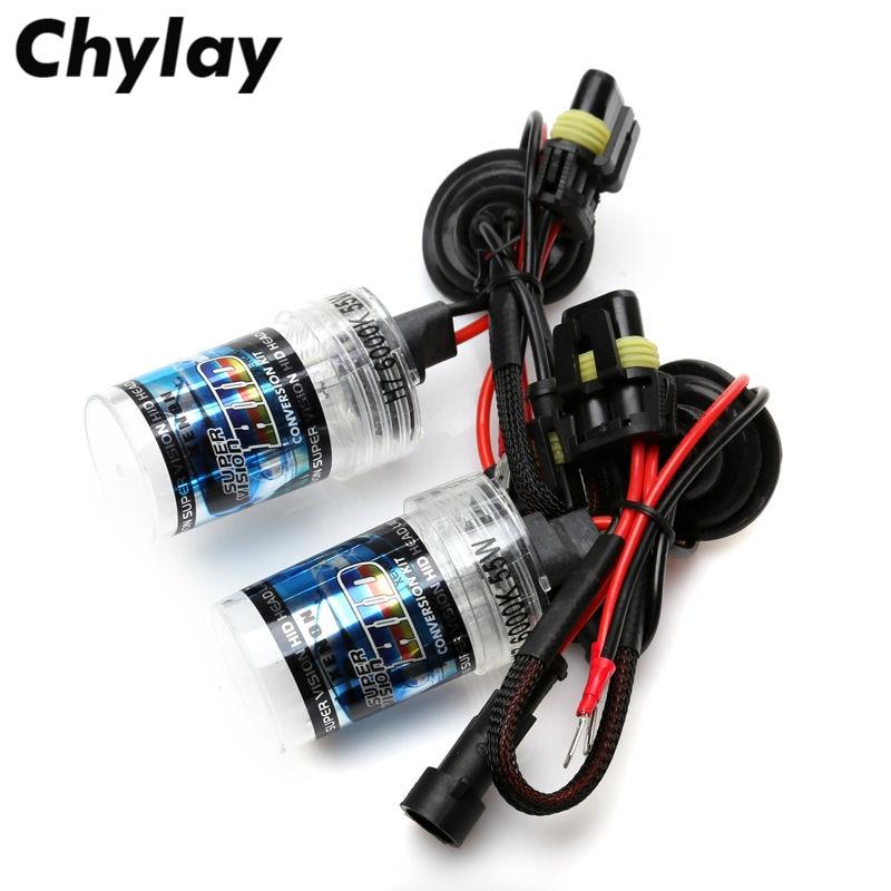 2Pcs 55W H11 Xenon H4 H1 H7 H3 9005 9006 D2S 881 Kit Xenon Bulb 4300K 6000K 8000K HID Bullb H4 Bixenon Lamp Car Accessories