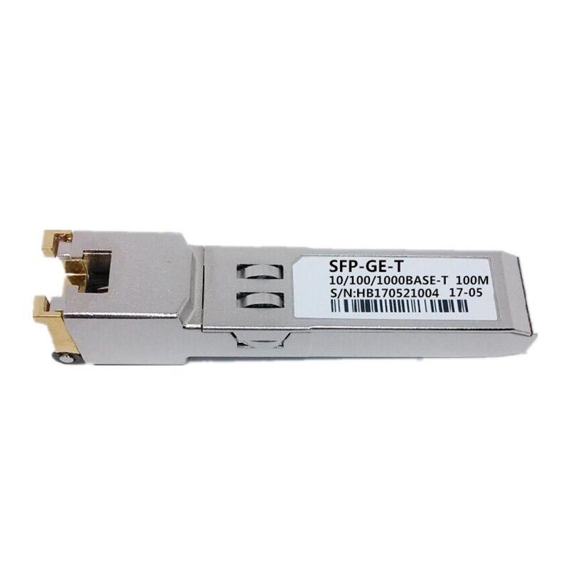 Image 5 - 100% New sales Compatible For Cisco GLC GE T RJ45 SFP Optic Module 10/100/1000BASE T Gigabit RJ 45 Copper 100m-in Fiber Optic Equipments from Cellphones & Telecommunications