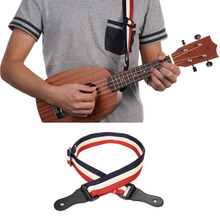 Ukulele Strap Canvas Ukulele Straps Guitar Strap Uses High Grade Cotton Material The Head Uses The Finest Leather (PE Bags)