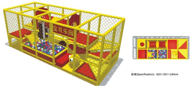Ihram Kids For Sale Dubai: CE Certified Indoor Playground Equipment/ Naughty Castle