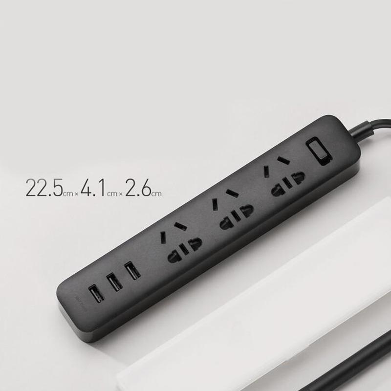 Xiaomi Mi Power Strip 3 Socket 3 USB 6