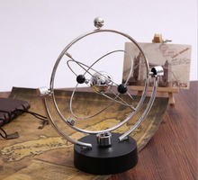 Newton's Cradle Perpetual Instrument Ball Model of Magnetic Bodies Orbit Earth Furnishing Articles Household Adornment Ornament hot anatomical detachable eye model with orbit 10 parts eye eyeball with orbit model