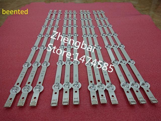"""12 PCS LED backlight strip 55""""V14 Slim DRT R1 L1 R2 L2 for LG 55LB690V 55LB720V LC550DUH(PG)(F1) 6916L 1629A 1630A 1741A 1743A"""