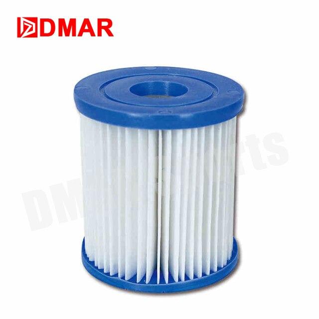 DMAR Swimming Pool Bestway SPA Pump Filter Cartridge Water Filter Cleaner Pool 3 Size Accessories