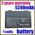 Jigu k50in bateria do portátil para asus a32-f52 a32-f82 l0690l6 l0a2016 f82 k40 K50 K51 K60 K61 K70 P81 X5A X5E k50ij K50IJ K50ab X8A