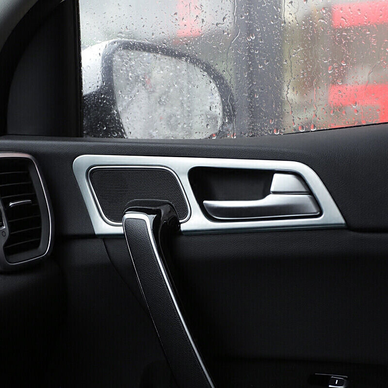 For KIA Sportage QL KX5 2016 2017 LHD ABS Matte Interior Door Handle bowl cover trim Car Styling Accessories 4pcs set in Interior Mouldings from Automobiles Motorcycles