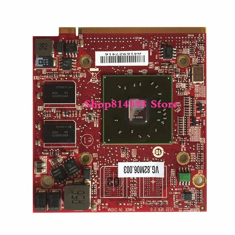 For ATI Mobility Radeon HD3470 HD 3470 512MB Video Graphics Card for Acer Aspire 4920G 5530G 5720G 6530G 5630G 5920g 32775493780 dhl ems free shipping new ati radeon 9550 256mb ddr2 agp 4x 8x video card from factory 50pcs lot