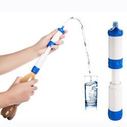 Давление фильтр для воды открытый инструмент выживания Портативный очиститель воды чрезвычайных прямого питьевой очиститель Пеший