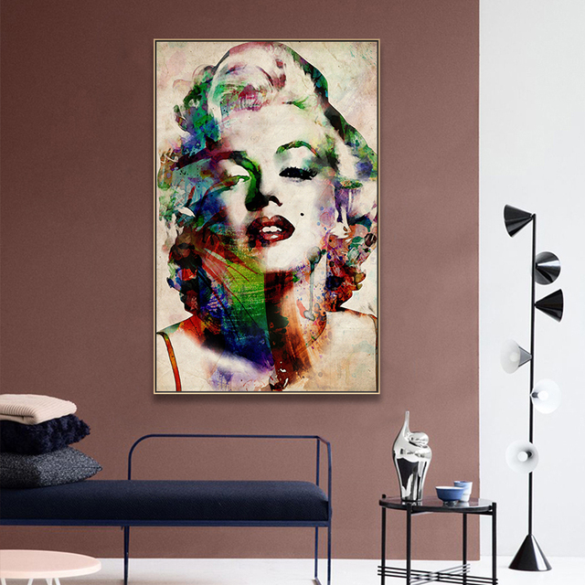 Fashion Star Marilyn Monroe Decoration Posters