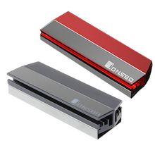 Алюминий сплав M.2 радиатор SSD твердотельный накопитель на жестком диске радиатор тепла рассеивание теплоты Охлаждающие подставки Прямая поставка