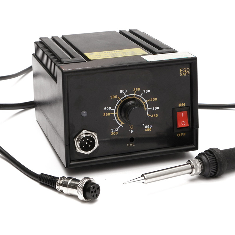 ФОТО Brand New Inverter Frequency Change Electric 936 Soldering Station Iron 110V 220V 65W AC24V 13.8x11x8cm High Quality