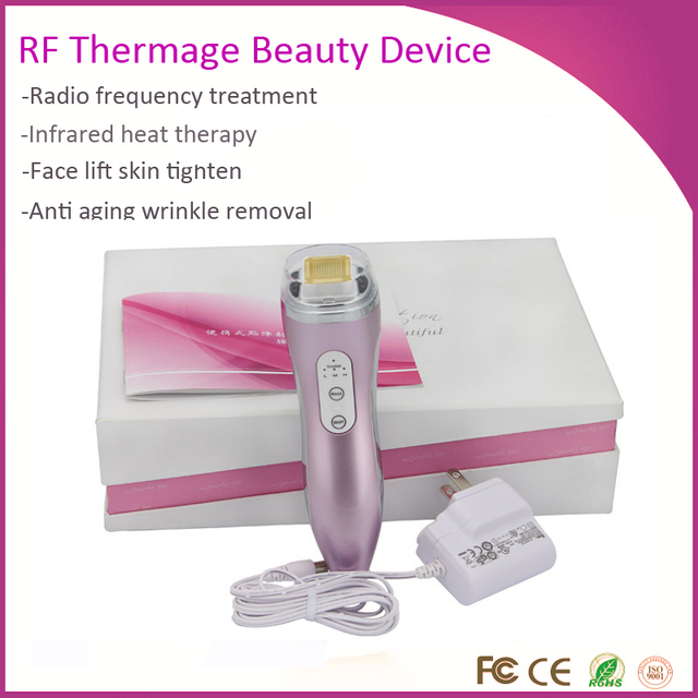 US $88 88 |Upgraded Version Face Lifting Wrinkle Removal Dot Matrix Thermal  Magic RF Radio Frequency Skin Rejuvenation Beauty Device on Aliexpress com
