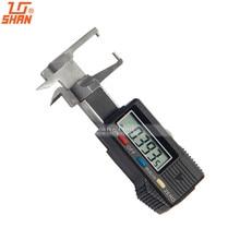 Discount! SHAN Digital GEM Gauge 0-20mm/0.01mm Stainless Steel Caliper Micrometer Measure Tools