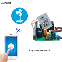 ANYSANE Smart Remote Control Wireless Switch TFTTT PCBA Board 16A Wifi Socket 26 Groups Timing Schedule