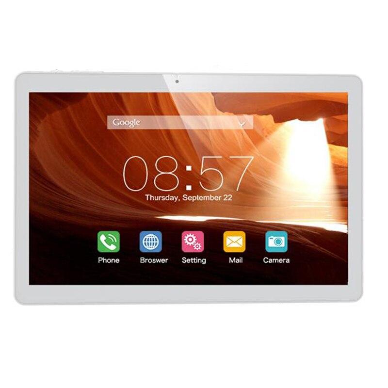 NUOVO Cubo 10.1 ''IPS 1280x800 Android 6.0 MT8321 Quad Core WCDMA Bluetooth Doppia Fotocamera 1 GB/16 GB T12 3G Chiamata di Telefono Tablet PC