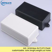 Wall mounting electronic housing products abs plastic enclosure junction box diy instrumen case pcd design BOX 155*80*45mm