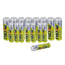 16 stks/partij 3A Mh AAA Batterijen 8 stks 600 mAh 1.2 V AAA & 8 stks AA 600 MAH aa oplaadbare Batterij Voor Camera Zaklamp Speelgoed