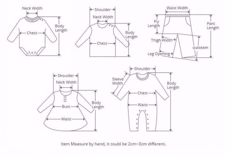 baby clothing size