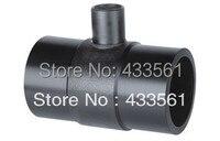 Darmowa wysyłka standard 15558.2-2005 Do zgrzewania Doczołowego armatura zmniejszenie Tee DN63X32X63 Gazu termiczna dla Ropy Naftowej i gazu ziemnego płynu Rurociąg