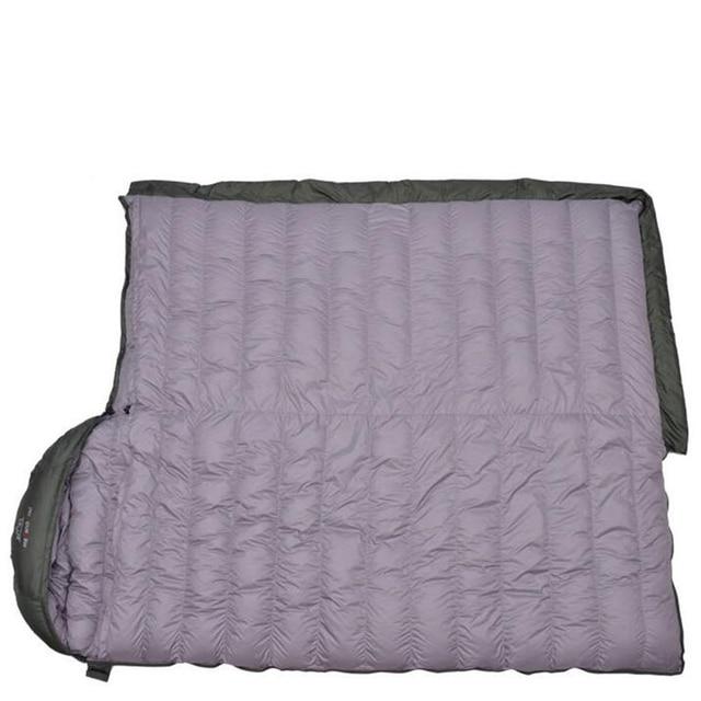 Ultralight Sleeping Bag Comfortable Goose Down Sleeping Bag Camping   Multifunction Travel Bag White Duck Down Lazy Bag S429 6