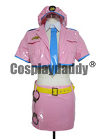 Super Sonico Space officer Halloween Party Dress Set Cosplay Costume