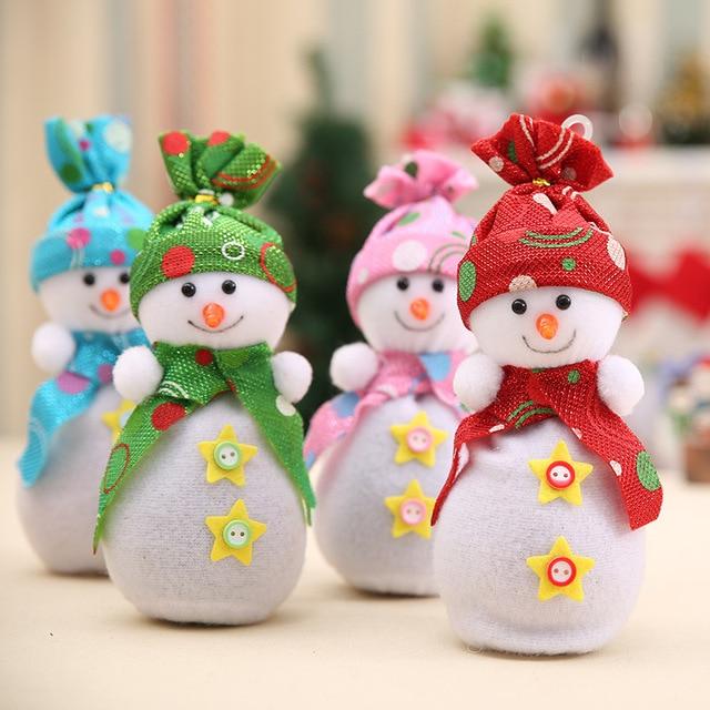 Merry Christmas Cute Snowman Home Pendant Ornament Snowmen Apple ...