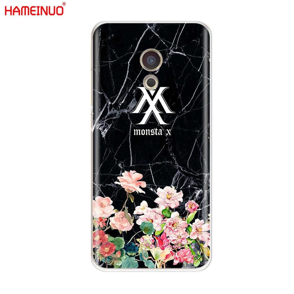 HAMEINUO KPOP K.A.R.D MONSTA X NCT 127 pokrywa etui na telefon do Meizu M6 M5 M5S M2 M3 M3S MX4 MX5 MX6 PRO 6 5 U10 U20 note plus