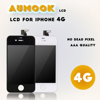 AAA Quality 100 Tested For Iphone 4G Touch Screen LCD With Complete Digitizer Assembly Replacement