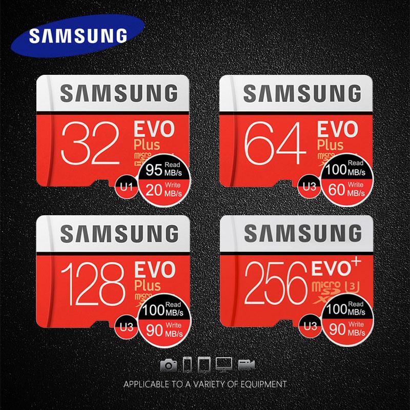 Original Samsung Memory Card 32GB 64GB 128GB Micro SD Card 256GB SDHC SDXC C10 UHS TF Card high speed Trans Flash