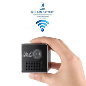 Mobile-Projector Pocket P1 Home Wireless Led DLP Support WIFI Beamer Movie DLNA Miracast