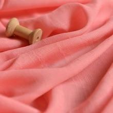 Summer Sen department Pure Plain Bamboo festival silk cotton dress curtain diy fabric