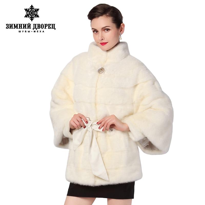 Online Shop 2016 Best Seller white fur coatGenuine LeatherBat