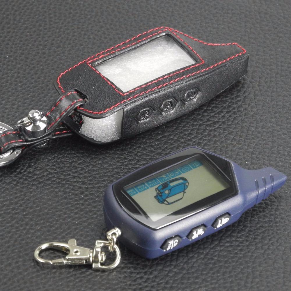 удаленные 3 кнопки кожа автомобиль-стайлинг ключа чехол для СтарЛайн В9 А91 А61 twage В6 двухстороннее системы автосигнализации брелок