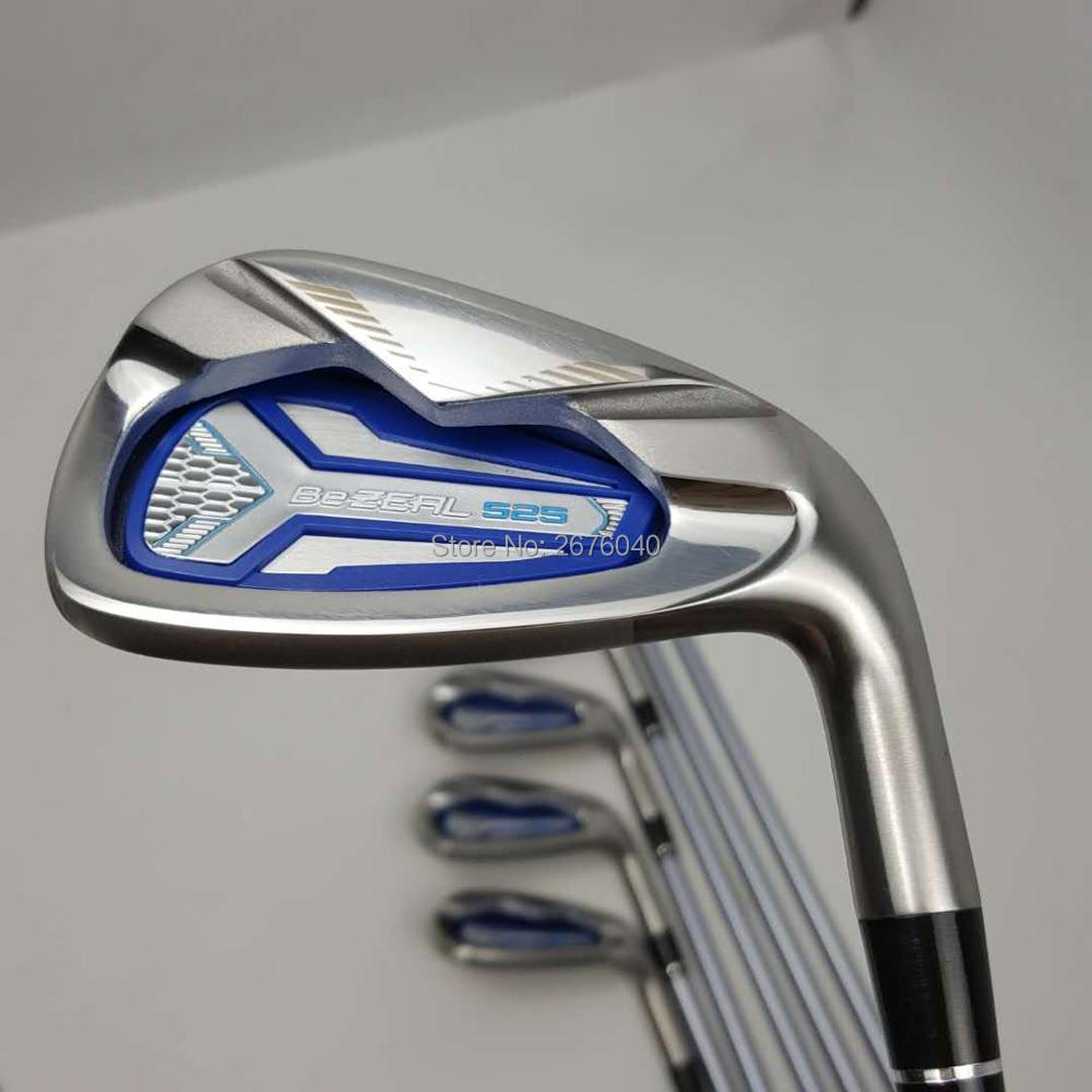 Womens Club Golf irons HONMA BEZEAL 525 Golf clubs with Graphite L flex 7 piece Free shipping
