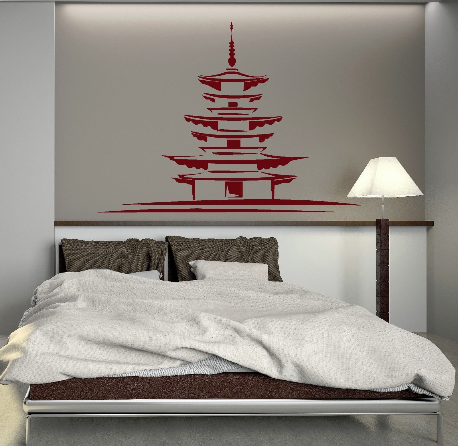 Japanese Home Decor Store: New Home Vinyl Decal Japan Japanese Architecture Oriental