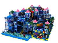 Детская крытая игровая площадка парк детский город Забавный замок масштабный отдых земля YLW IN171063