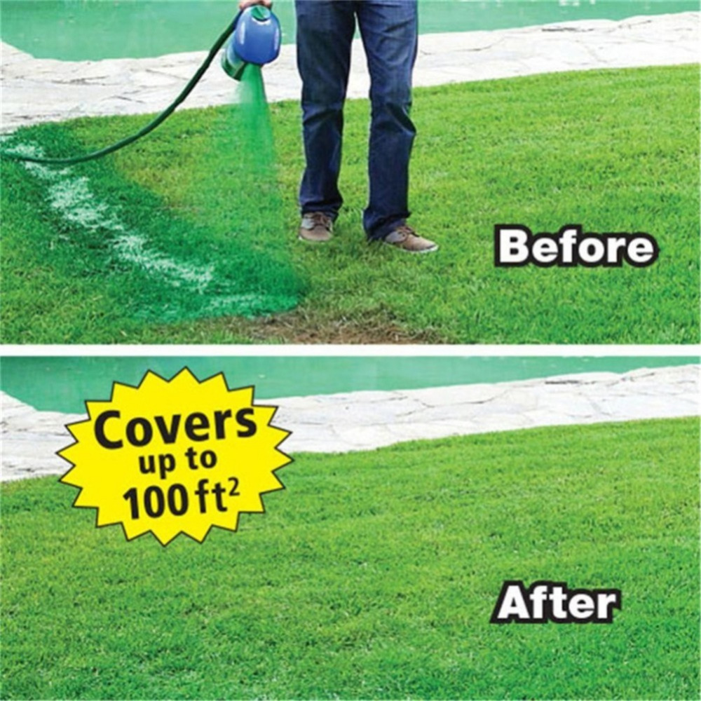 Drop Shipping Garden Hydro Liquid Sprayer Mousse Household Hydro Seeding System Lawn Spray Device Grass Lawn Care Garden Tools