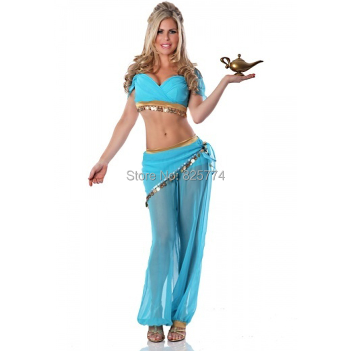 Aliexpress.com : Buy princess jasmine costume women adult ...