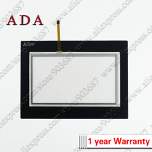 Digitizer Mitsubishi Touch-Screen for with Overlay Protective-Film GS2107-WTBD Glass-Panel