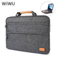 WIWU Magnetic Stand Laptop Bag For New Macbook 13 inch Waterproof Nylon Sleeve Case Handbag For Xiaomi Air Pro 15 Notebook Bags
