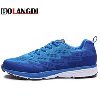 Bolangdi New Most Popular Style Men Running Shoes Outdoor Walking Brand Sneakers Comfortable Athletic Shoes Men