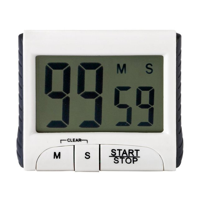 Kitchen Countdown Timers Large LCD Digital Kitchen Timer Count Down ...
