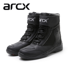 Arcx leather outdoor motorcycle shoes wrestling riding shoes racing shoes in the locomotive shoes