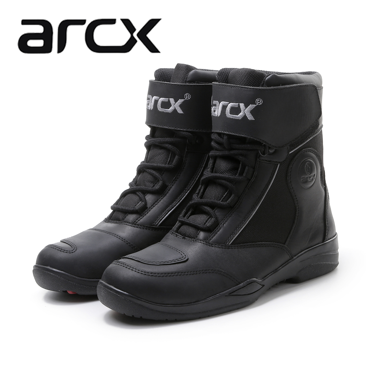 Arcx leather outdoor motorcycle shoes wrestling riding shoes racing shoes in the locomotive shoes wrestling shoes