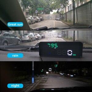 Image 5 - Wiiyii P9 hud車のヘッドアップディスプレイobd ii eobdフロントガラスプロジェクタースタイリング 2 システムディスプレイ自動車の付属品車のスタイリング