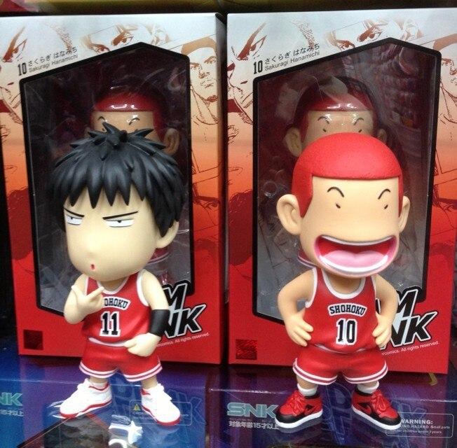 ФОТО Slam Dunk action Figures Kaede Rukawa akuraki Japanese Anime Figure Hot Toys Pvc Cartoon Figure Kid Gift Brinquedo Free Shipping