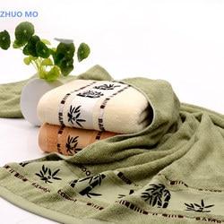 Новый бамбуковое волокно Ванна Полотенца 70x140 см супер мягкая впитывающая Ванна Полотенца 3 цвета бамбука пляж Полотенца Spa салон Бесплатная...