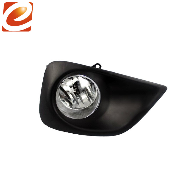 eeMrke For Toyota Vios Yaris Sedan 2013 - up Fog Lights Lamp H11 12V 55W Halogen Bulbs With Wires and Switch Kits new halogen fog light lamp with wires and button for toyota corolla 2014 altis