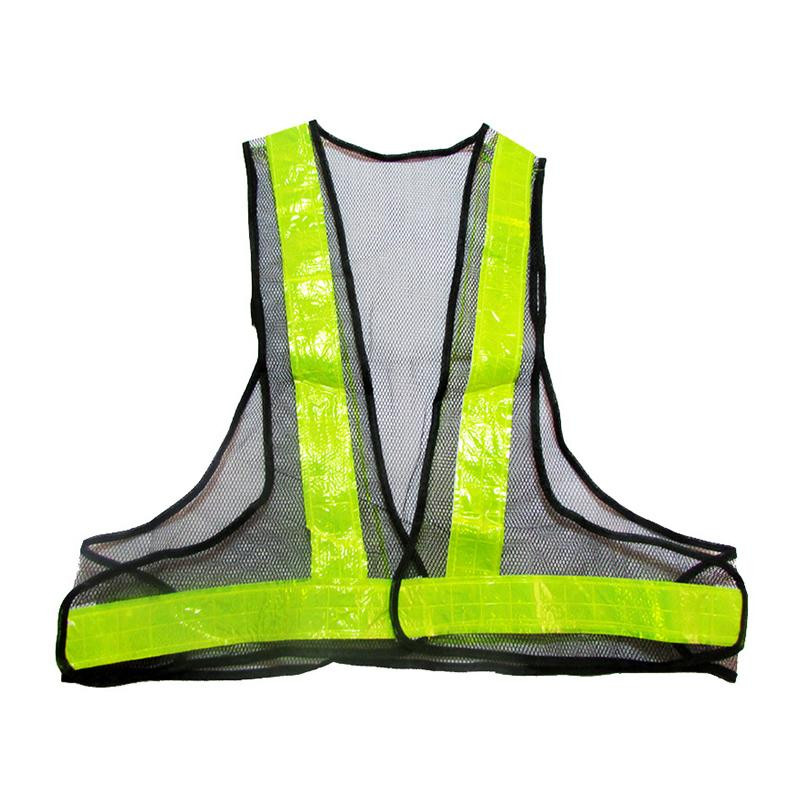 Outdoor Running Cycling High Visibility Reflective Vest Warning Traffic Construction Safety Security Gear Labor Clothes Mesh