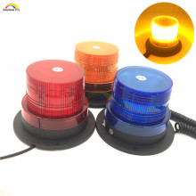DC12V car Magnetic Mounted LED Red Yellow Blue color Vehicle Police Warning light Strobe Flashing Lighting Emergency Beacon
